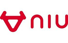 Logo NIU in rot