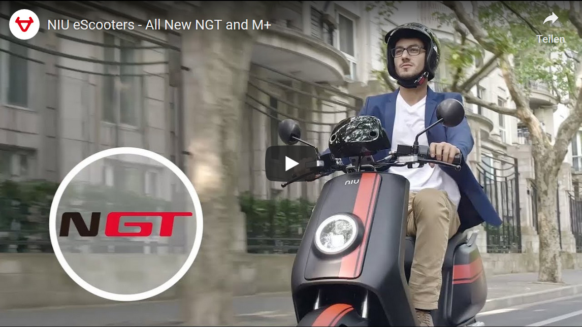 Elektroroller NIU NGT eScooters - All New NGT and M+