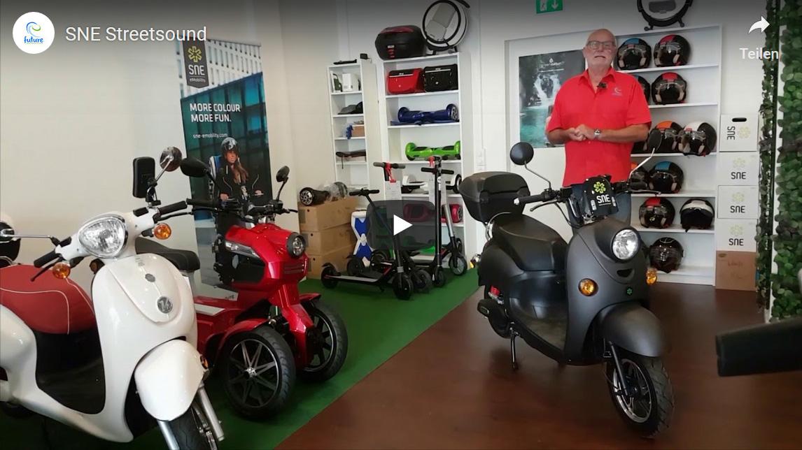 Elektroroller und eScooter neue Modelle mit dem eRoller Walter