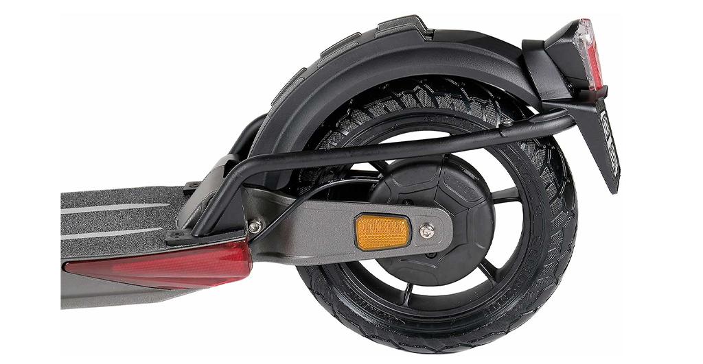 eScooter SXT Light+V Hinterrad mit Versicherungskennzeichenhalterung