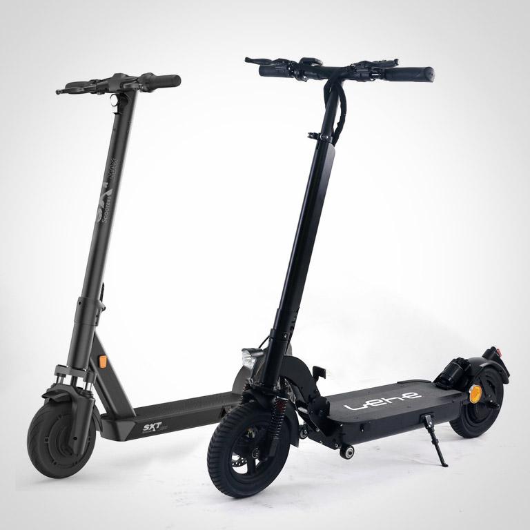 eScooter Lehe V 4 und eScooter SXT MAX