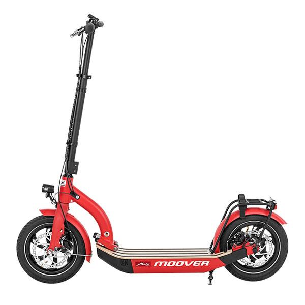 eScooter Metz Moover in rot Seitenansicht