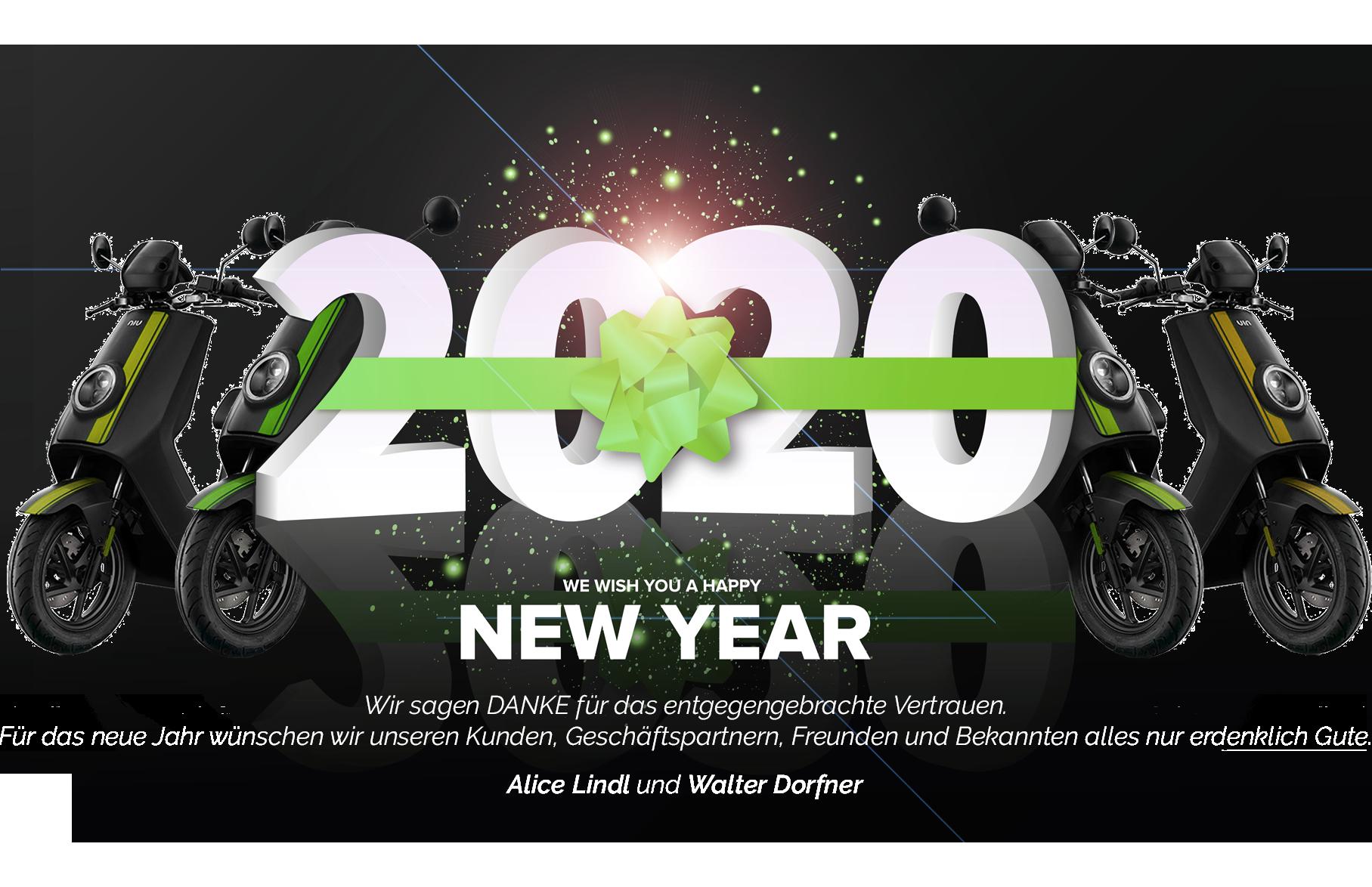 efuture wünscht ein happy new Year 2020