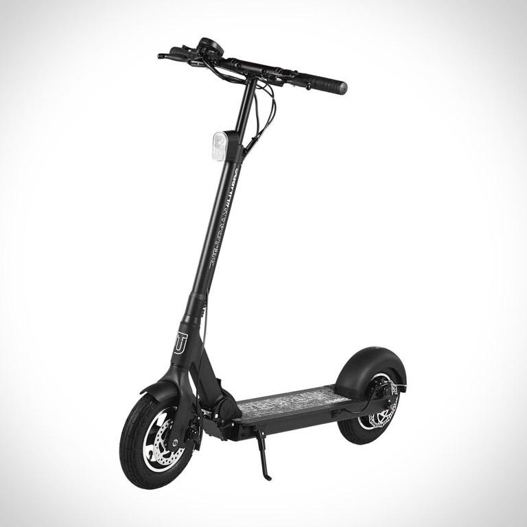 eScooter The Urban #HMBRG in schwarz Seitenansicht