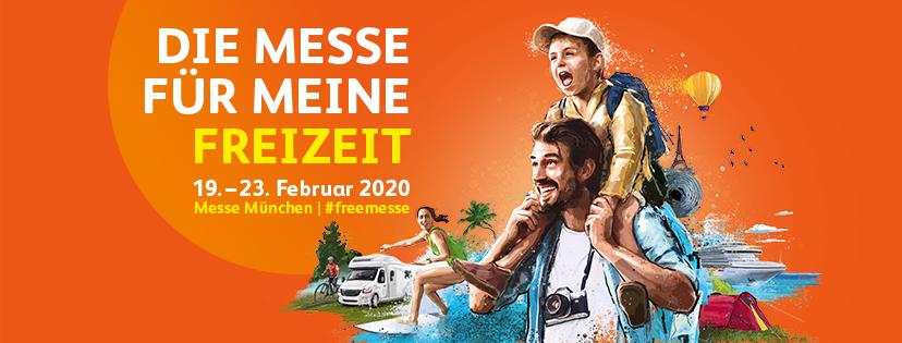 free 2020 die Messe für meine Freizeit Februar 2020, Werbebild