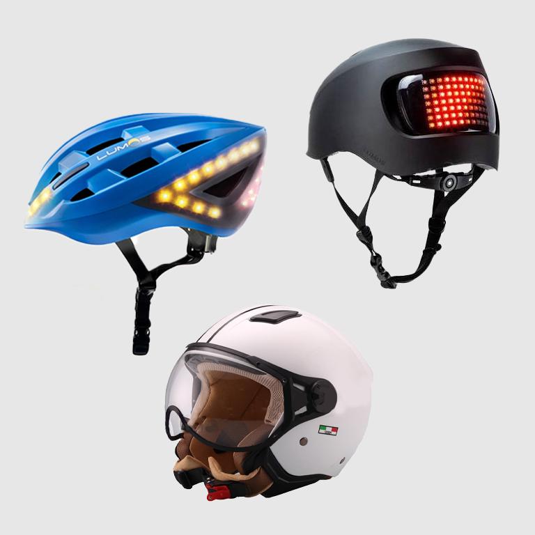 Lumos Helme eScooter Helm Jethelm weiss