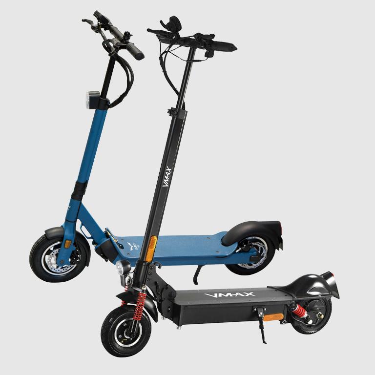 eScooter Egret Ten V4 und VMax Seitenansich