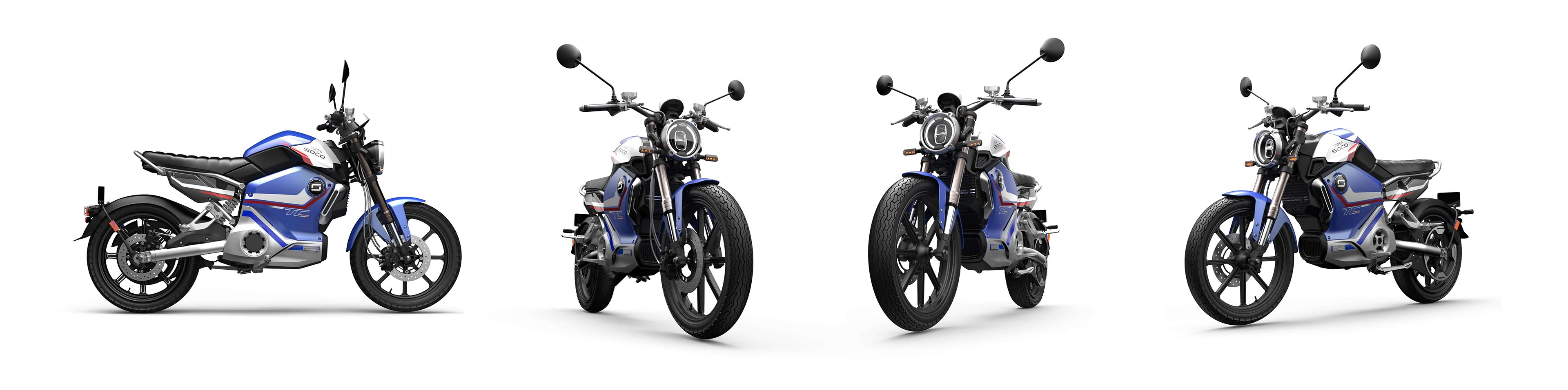 Elektromoped Super Soco Pro Limited Blue Edition