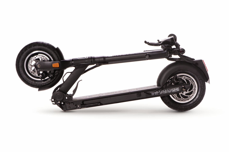 eScooter The Urban xH1 schwarz geklappt