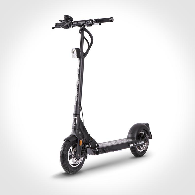 eScooter The Urban xH1 schwarz Frontansicht