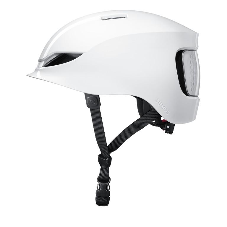 Lumos Matrix Helm in weiss mit LEDs und Blinker
