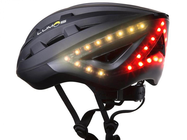 schwarzer Lumos Helm