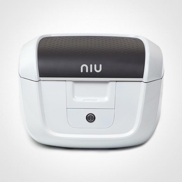 Elektroroller NIU Original Topcase in weiss