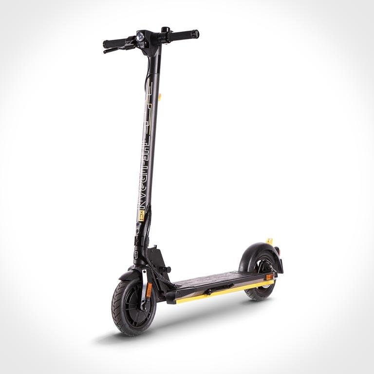 eScooter The Urban xC1 schwarz mit gelb