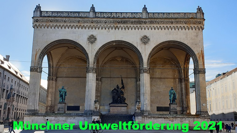 Förderprogramm der Stadt München 2021