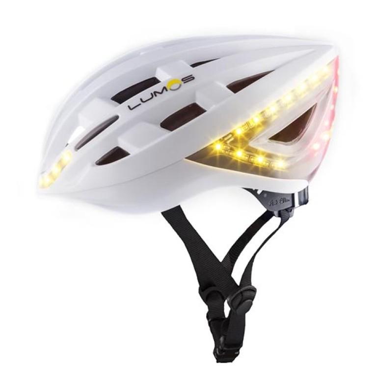 LUMOS Fahrradhelm mit integrierten LEDs und Blinkfunktion