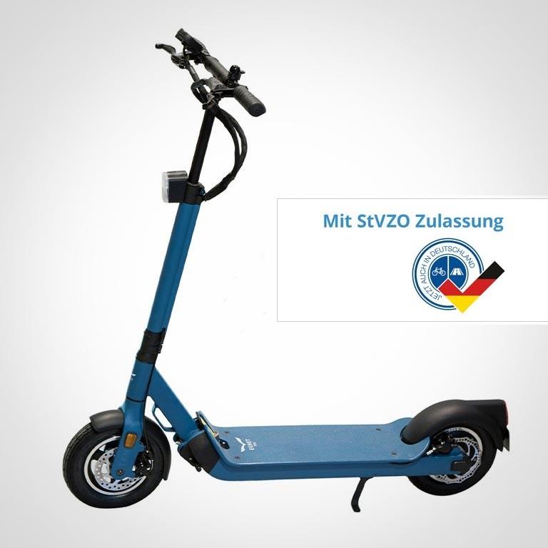 eScooter The Egret Ten V4 in blau