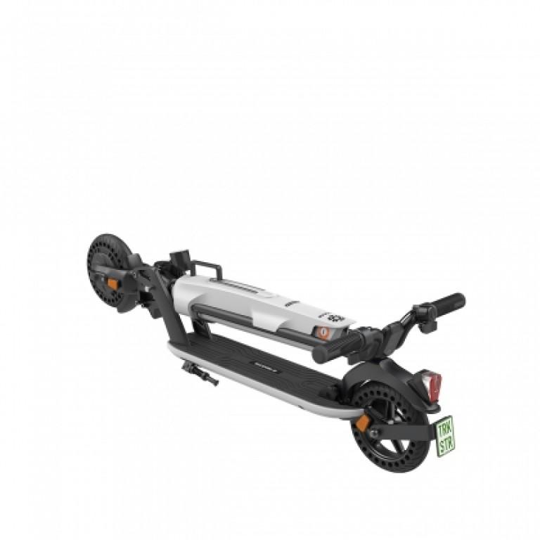 eScooter Trekstore EG60 geklappt in weiß mit Wechselakku