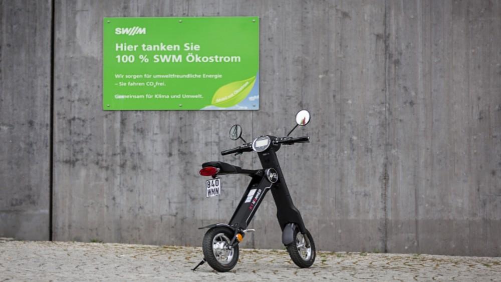eScooter Hammer K1 Ökostrom