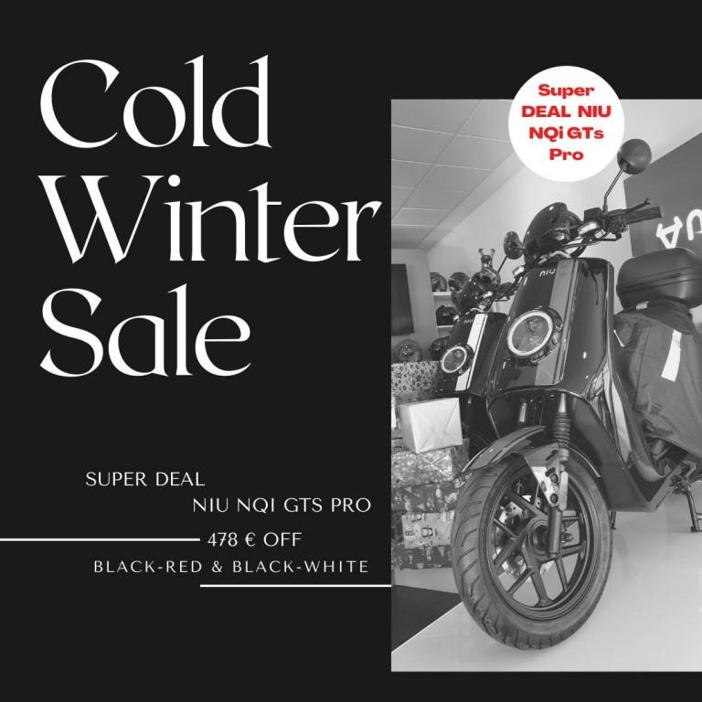 NIU NQi GTs Pro im Winter Sale