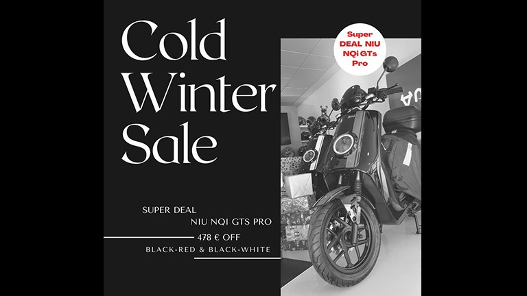 Cold Winter Sale NIU NQi GTS Pro