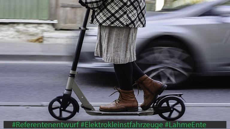 eScooter Referentenentwurf