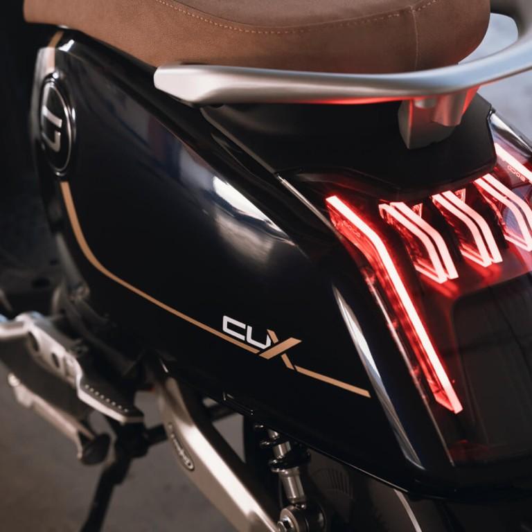 Hinterlicht von Super Soco CUX Elektroroller