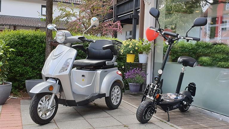 eScooter und eRoller bei efuture LuXXon 3800 und SXT