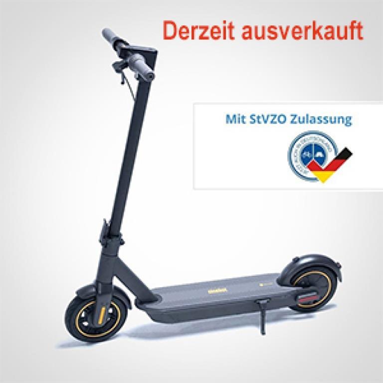 eScooter Ninebot G30D derzeit ausverkauft