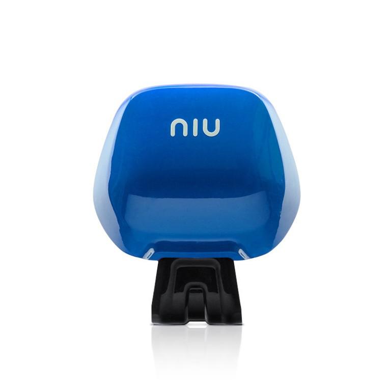 Elektroroller NIU Original Rückenlehne in blau